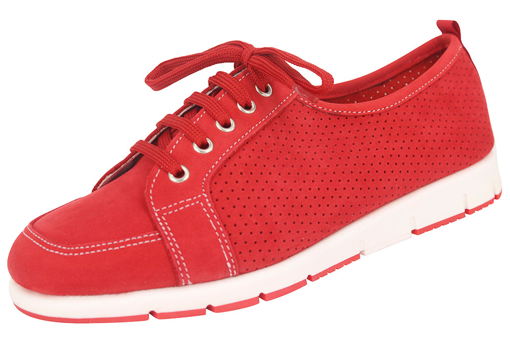 FRAME - NUBUCK RED