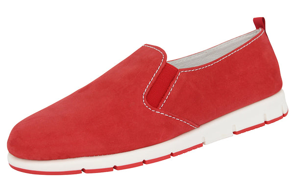 FRIEND - NUBUCK RED