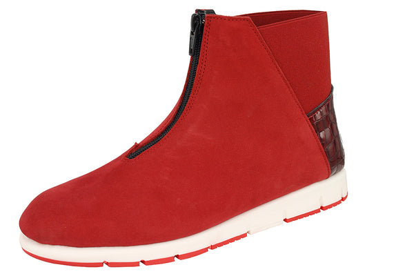 FRITTO  -  NUBUCK RED / CROC RED