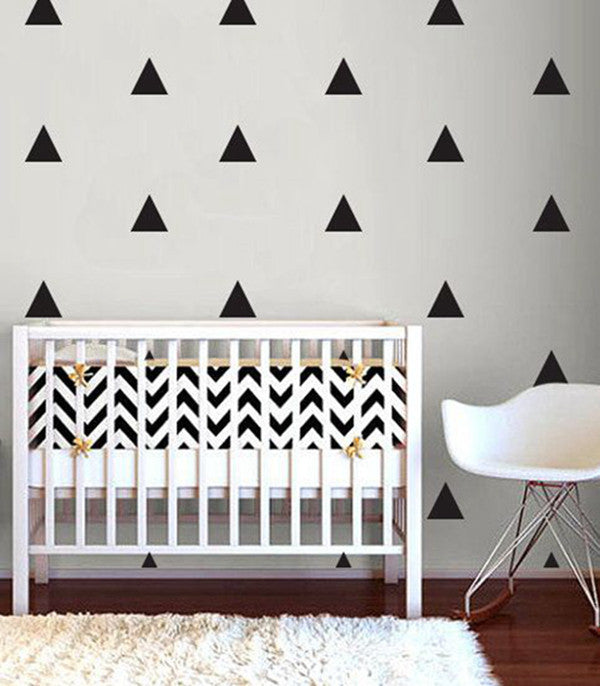 Triangle Decal Wall Sticker