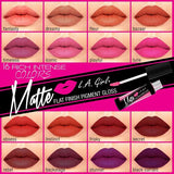 LA Girl Matte finish pigment gloss - Backstage