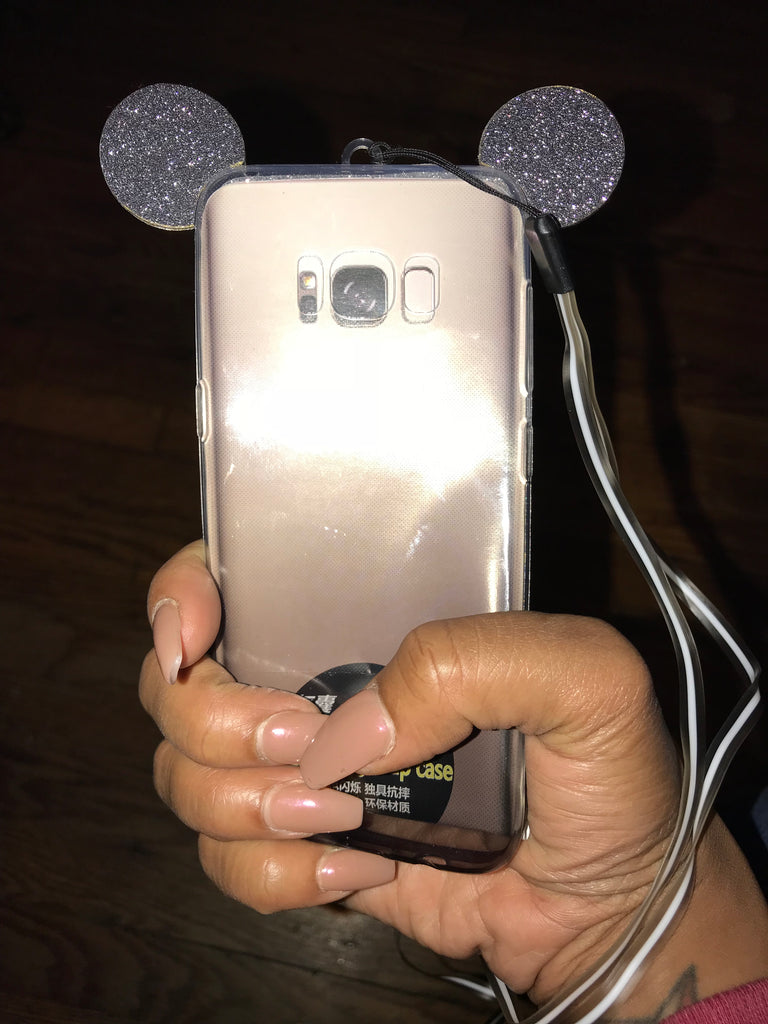 """Glittery Ears"" Galaxy S8 Case"