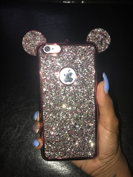"""Blingy Minnie"" iPhone 6+ Case  (more colors available)"