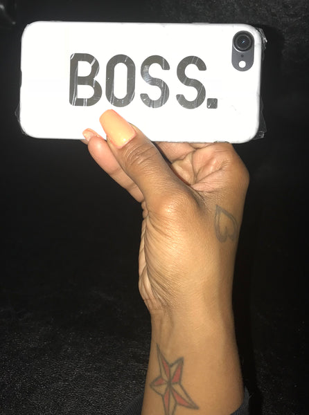 """Boss"" iPhone 7/8 Case"