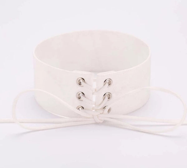 """Lace It Up"" Choker"