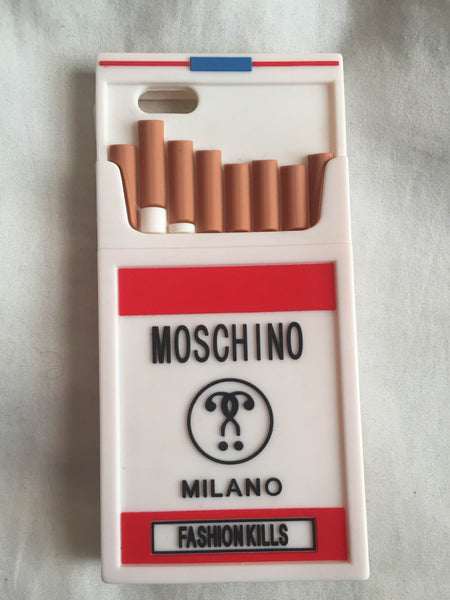 "Moschino ""Fashion Kills"" iPhone 6+ Case"