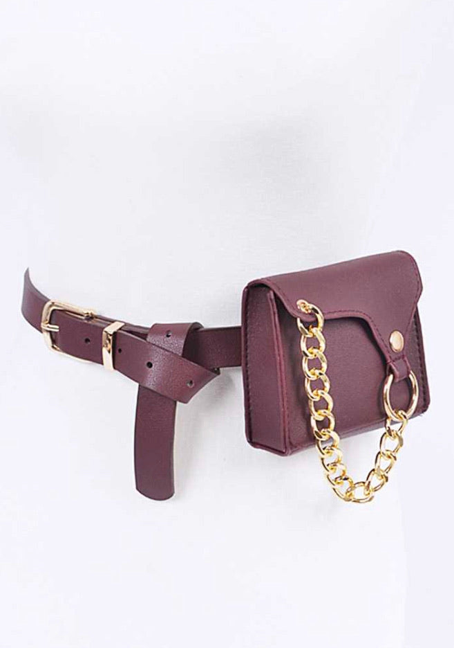"""Chain Gang"" Belt Bag"