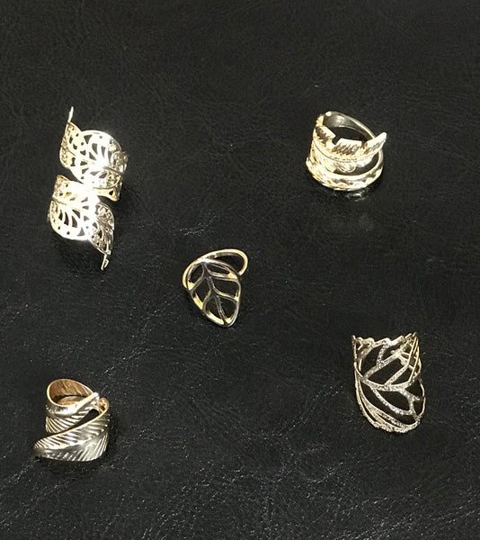 """Wrapped Up"" Ring Set"
