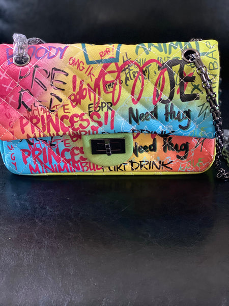 """Graffiti Art"" Purse"