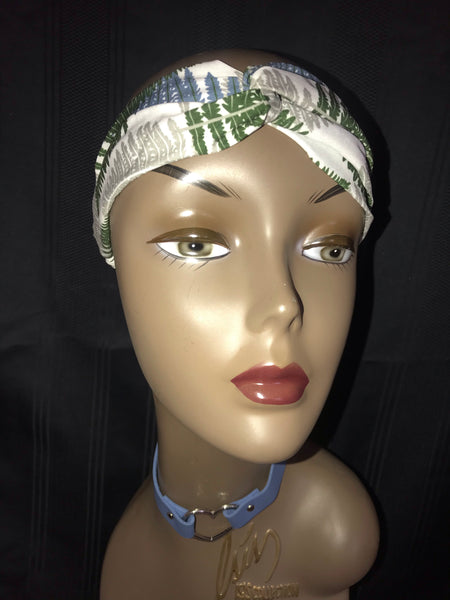 """Secret Garden"" Turban Headband"