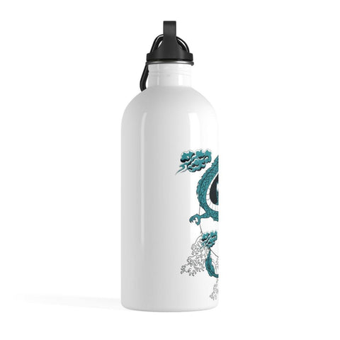 Yin Yang Dragon Stainless Steel Water Bottle