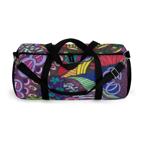 Forest Color Burst Duffel Bag - Sweet Dragon Mama