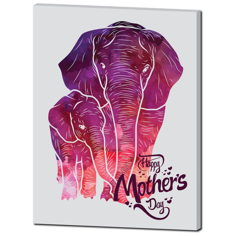 Mother and Child- Premium Canvas Gallery Wrap