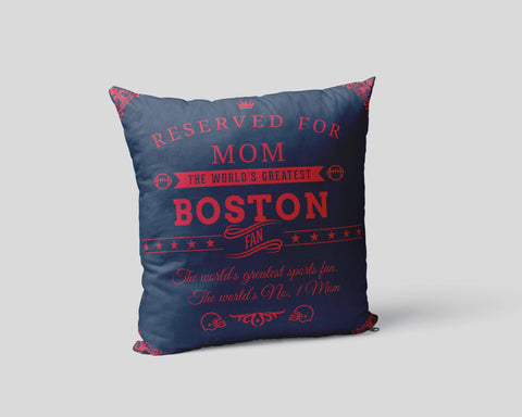 Boston Football Fan Personalized Cover - Sweet Dragon Mama