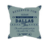 Image of Dallas Football Fan Personalized Pillow Cover