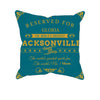 Image of Jacksonville Football Fan Personalized Pillow Case