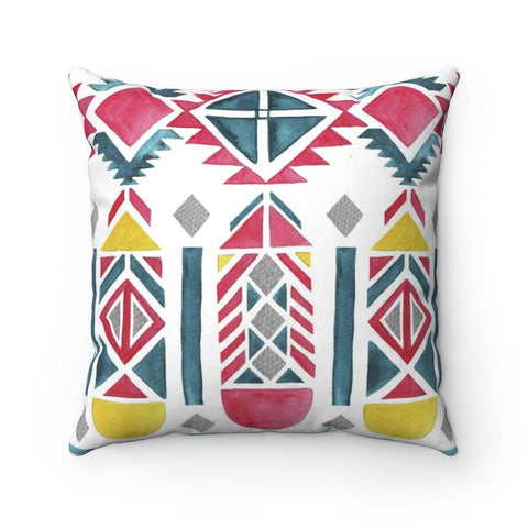Feather Joy Spun Polyester Square Pillow