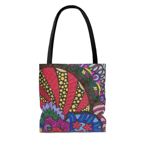 Forest Color Burst Tote Bag - Sweet Dragon Mama