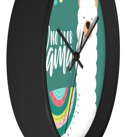 No Probllama Wall Clock