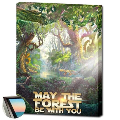 Forest Wisdom Canvas Wrap