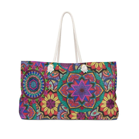 Sunflower Burst Weekender Bag