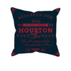 Image of Houston Football Fan Personalized Pillow Cover