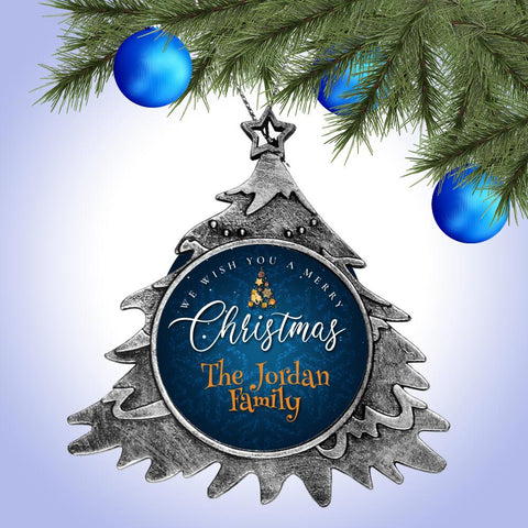 We Wish You A Merry Christmas - Christmas Tree Ornament