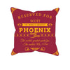 Image of Phoenix Football Fan Personalized Pillow Cover