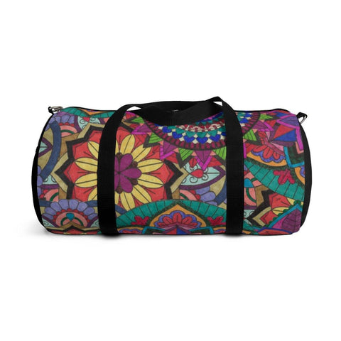 Sunflower Burst Duffel Bag - Sweet Dragon Mama