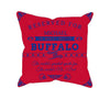 Image of Buffalo Football Fan Personalized Pillow Cover