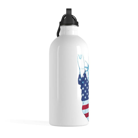 Lady Liberty Stainless Steel Water Bottle