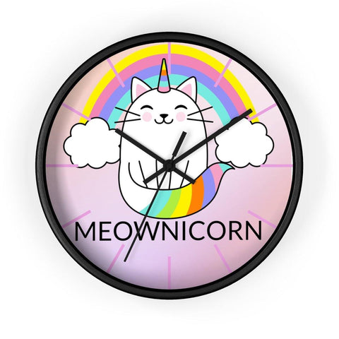 Meownicorn Wall clock - Sweet Dragon Mama