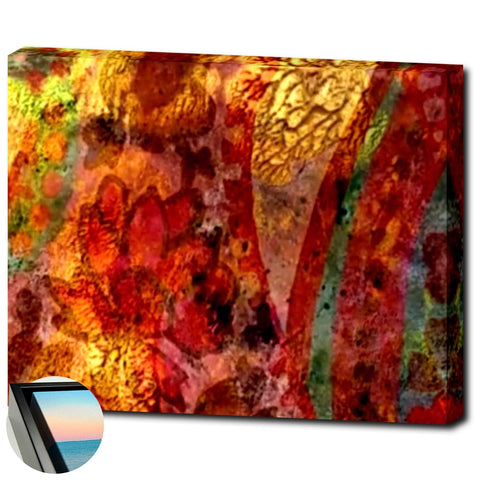 Morning Glory- Premium Canvas Wrap