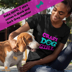 Crazy Dog Girl  Bella Short-Sleeve T-Shirt