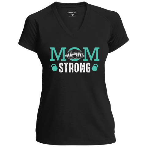 Mom Strong Sport-Tek Ladies' Performance T-Shirt