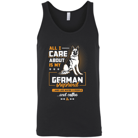 All I Care About.. Unisex Tank