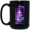 Image of Lost in Time Black Mugs