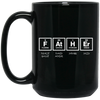 Image of Father Elements Black Mugs