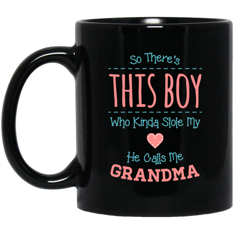 So There's This Boy 11 oz. Black Mug