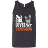 Image of Loves Her Chihuahua Bella Unisex Tank - Sweet Dragon Mama
