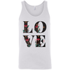 Image of Floral Love 3480 Bella + Canvas Unisex Tank - Sweet Dragon Mama