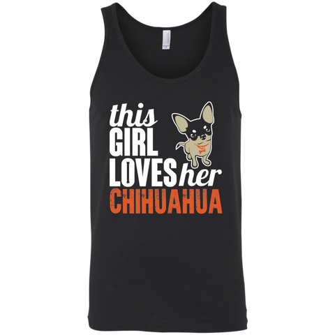 Loves Her Chihuahua Bella Unisex Tank - Sweet Dragon Mama