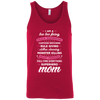 Image of Full Time Everything Superhero Mom Bella Unisex Tank