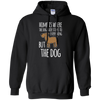 Image of Home is Where the Dog Hair G185 Gildan Pullover Hoodie 8 oz.