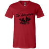 Image of Adventure Awaits 3005 Bella + Canvas Unisex Jersey SS V-Neck T-Shirt