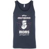 Image of Only Awesome Moms Unisex Tank