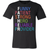 Image of Father Words Bella Jersey Short-Sleeve T-Shirt