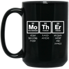 Image of Mother Elements Black Mugs