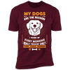 Image of My Dogs Are the Reason  Short Sleeve T-Shirt - Sweet Dragon Mama