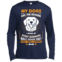 My Dogs Are the Reason Sport-Tek  Moisture Absorbing T-Shirt